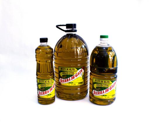 garrafas de Aceite de Oliva Virgen Extra