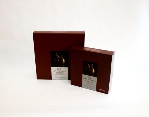 Bombones de higo con chocolate negro - Rabitos Royale