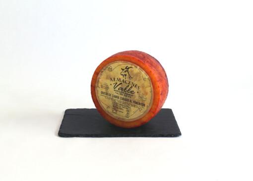Queso de cabra curado al pimentón