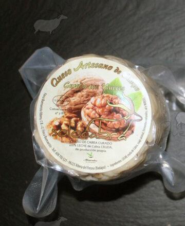 queso de cabra con nueces Solocabra