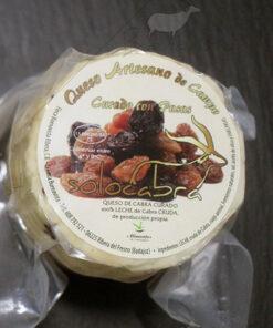 queso de cabra con pasas Solocabra